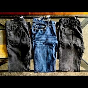 Bundle of Jeans Denim 32 34 Guess Express Rock